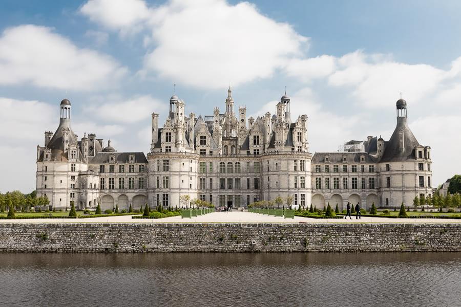 online tours of castles- Chateau de Chambord France
