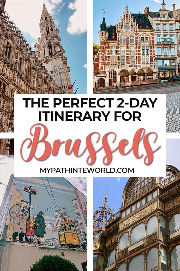 Wondering what to do in Brussels Belgium in 2 days? Here's the best two days in Brussels travel itinerary, including things to do, travel tips, where to stay, and where to eat.