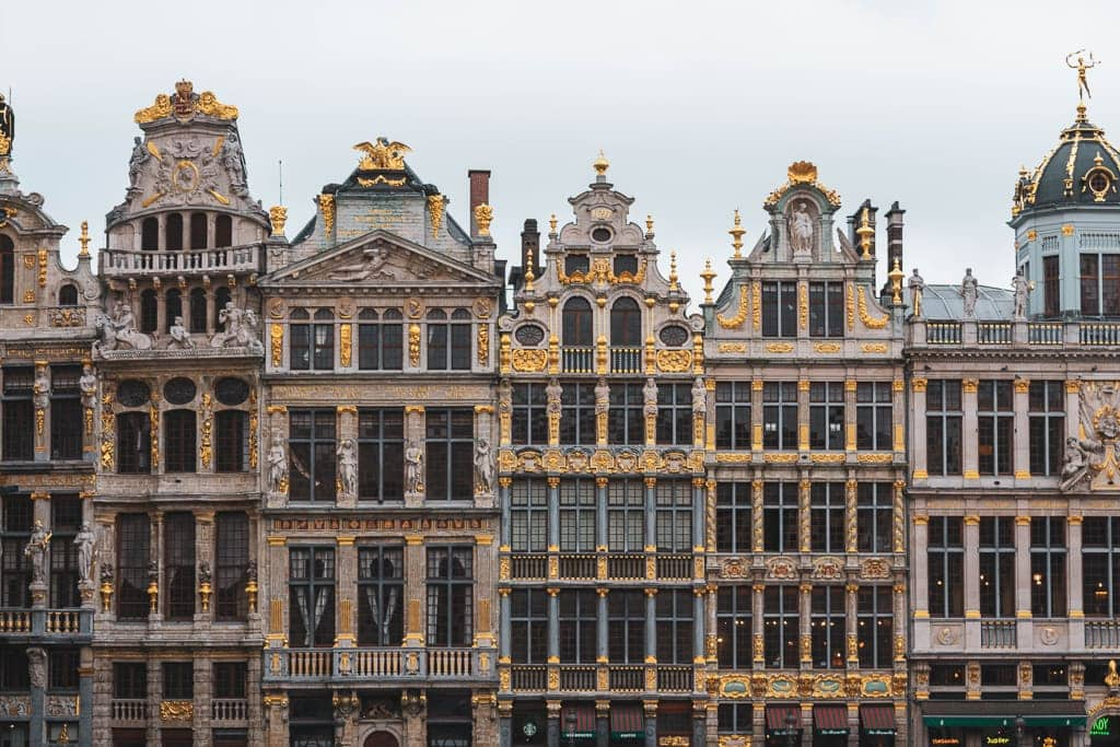 places to visit in Brussels in 2 days - the Grand Place square