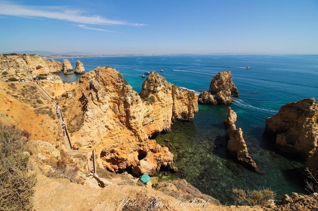 Best scenic drives in Portugal - Ponta da Piedade