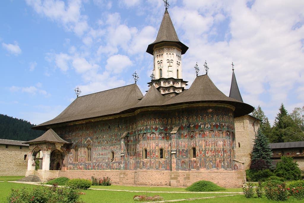 Monastery in Bucovina