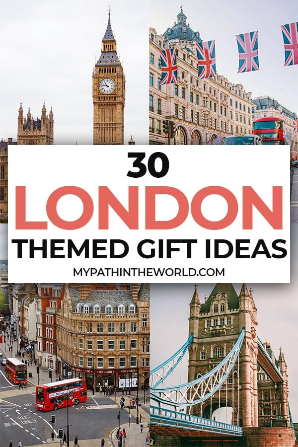 Looking for the best ideas for gifts for London lovers? Here are 30 incredible London themed gifts any anglophile will love!