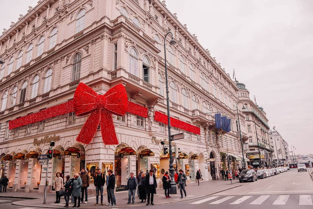 Top winter city breaks europe - Vienna Austria