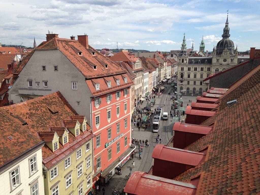 Most beautiful cities in Austria - Graz