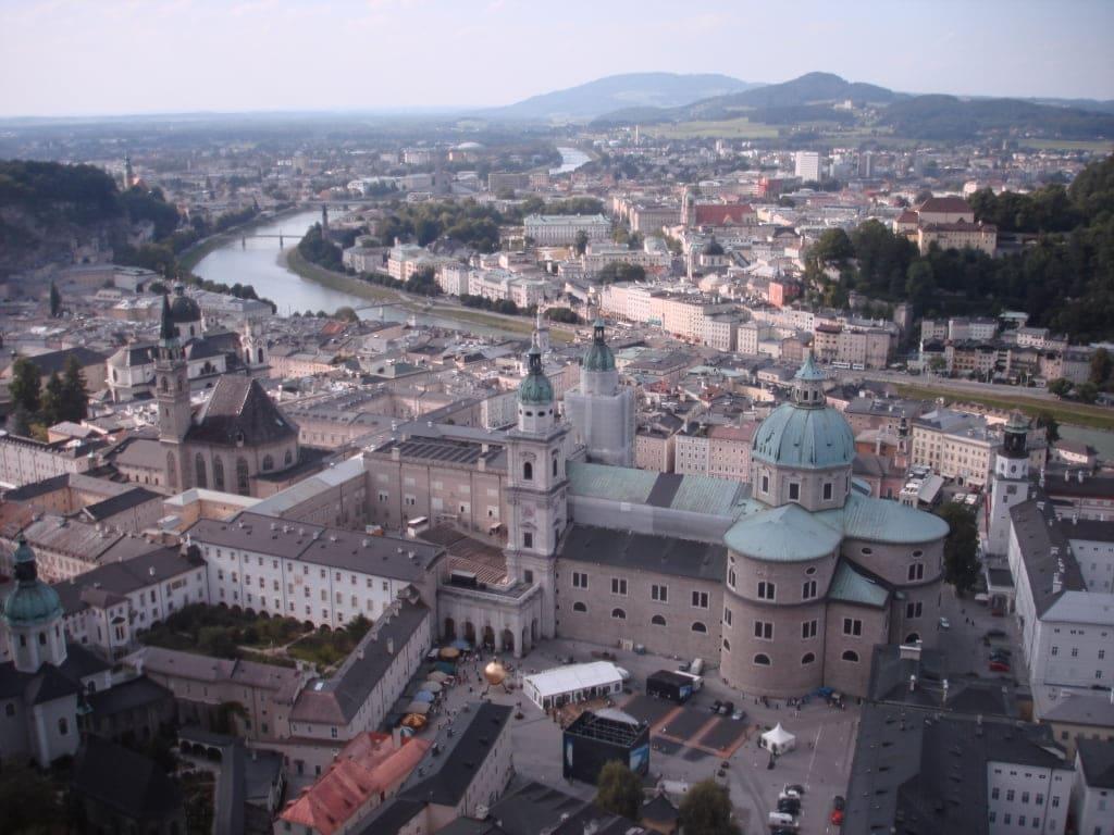 Salzburg from above